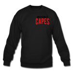 Invisible Capes Crewneck Sweatshirt - black