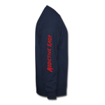 Invisible Capes Crewneck Sweatshirt - navy