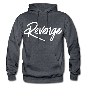 Revenge Heavy Blend Adult Hoodie - charcoal gray