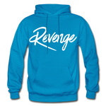 Revenge Heavy Blend Adult Hoodie - turquoise