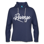 Revenge Lightweight Terry Hoodie - heather navy