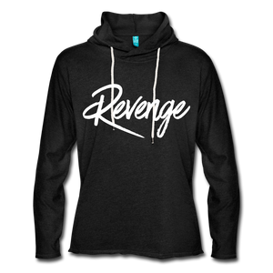 Revenge Lightweight Terry Hoodie - charcoal gray