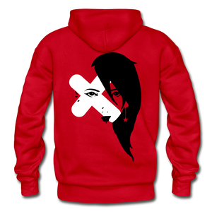 Fresh Exes Heavy Blend Hoodie - red