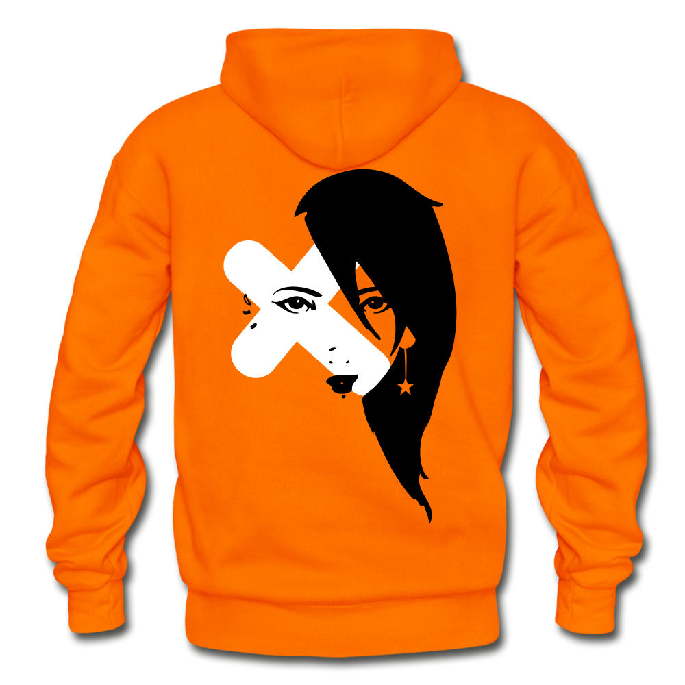 Fresh Exes Heavy Blend Hoodie - orange