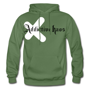 Fresh Exes Heavy Blend Hoodie - military green