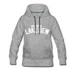 Lakeview Women's Premium Hoodie - heather gray