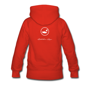 Lakeview Women's Premium Hoodie - red