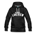 Lakeview Women's Premium Hoodie - charcoal gray