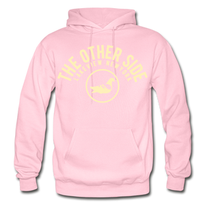 The Other Side Heavy Blend Adult Hoodie - light pink