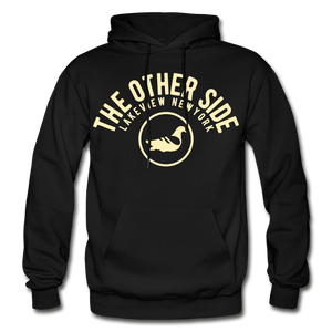 The Other Side Heavy Blend Adult Hoodie - black