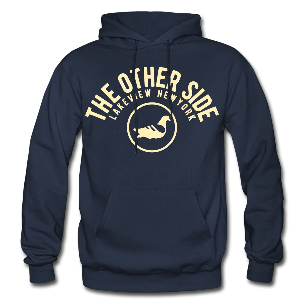 The Other Side Heavy Blend Adult Hoodie - navy