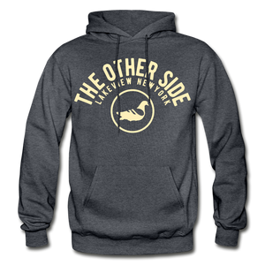 The Other Side Heavy Blend Adult Hoodie - charcoal gray