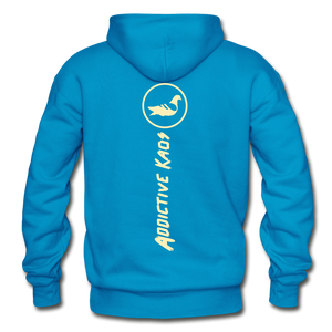 The Other Side Heavy Blend Adult Hoodie - turquoise