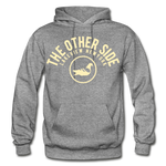 The Other Side Heavy Blend Adult Hoodie - graphite heather