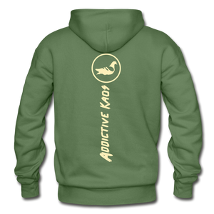 The Other Side Heavy Blend Adult Hoodie - military green