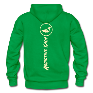 The Other Side Heavy Blend Adult Hoodie - kelly green