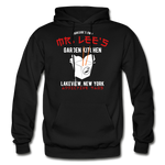 Mr. Lee's Heavy Blend Adult Hoodie - black