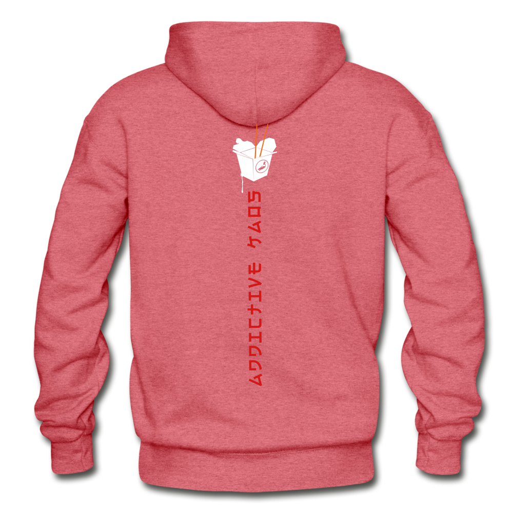 Mr. Lee's Heavy Blend Adult Hoodie - heather red