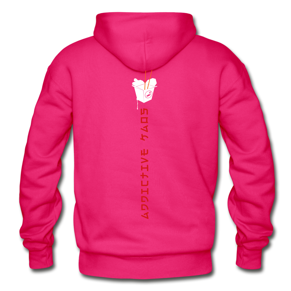Mr. Lee's Heavy Blend Adult Hoodie - fuchsia