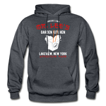 Mr. Lee's Heavy Blend Adult Hoodie - charcoal gray