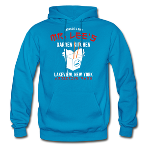 Mr. Lee's Heavy Blend Adult Hoodie - turquoise