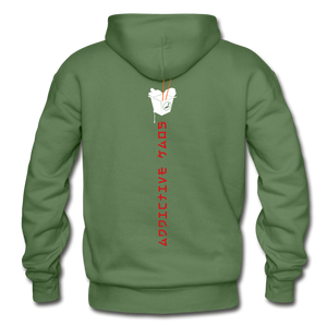 Mr. Lee's Heavy Blend Adult Hoodie - military green