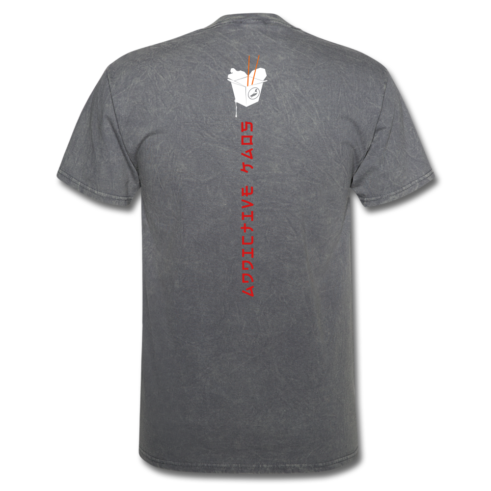 Mr. Lee's Men's T-Shirt - mineral charcoal gray