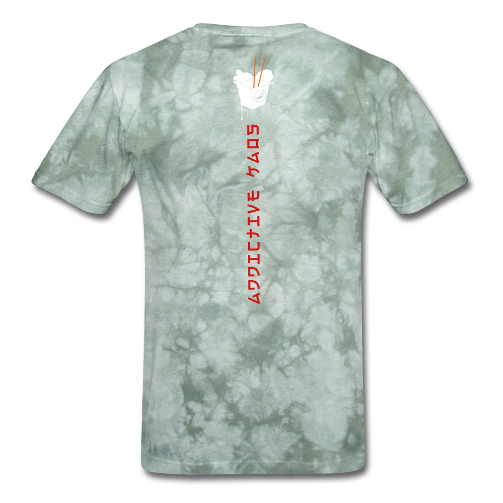 Mr. Lee's Men's T-Shirt - military green tie dye
