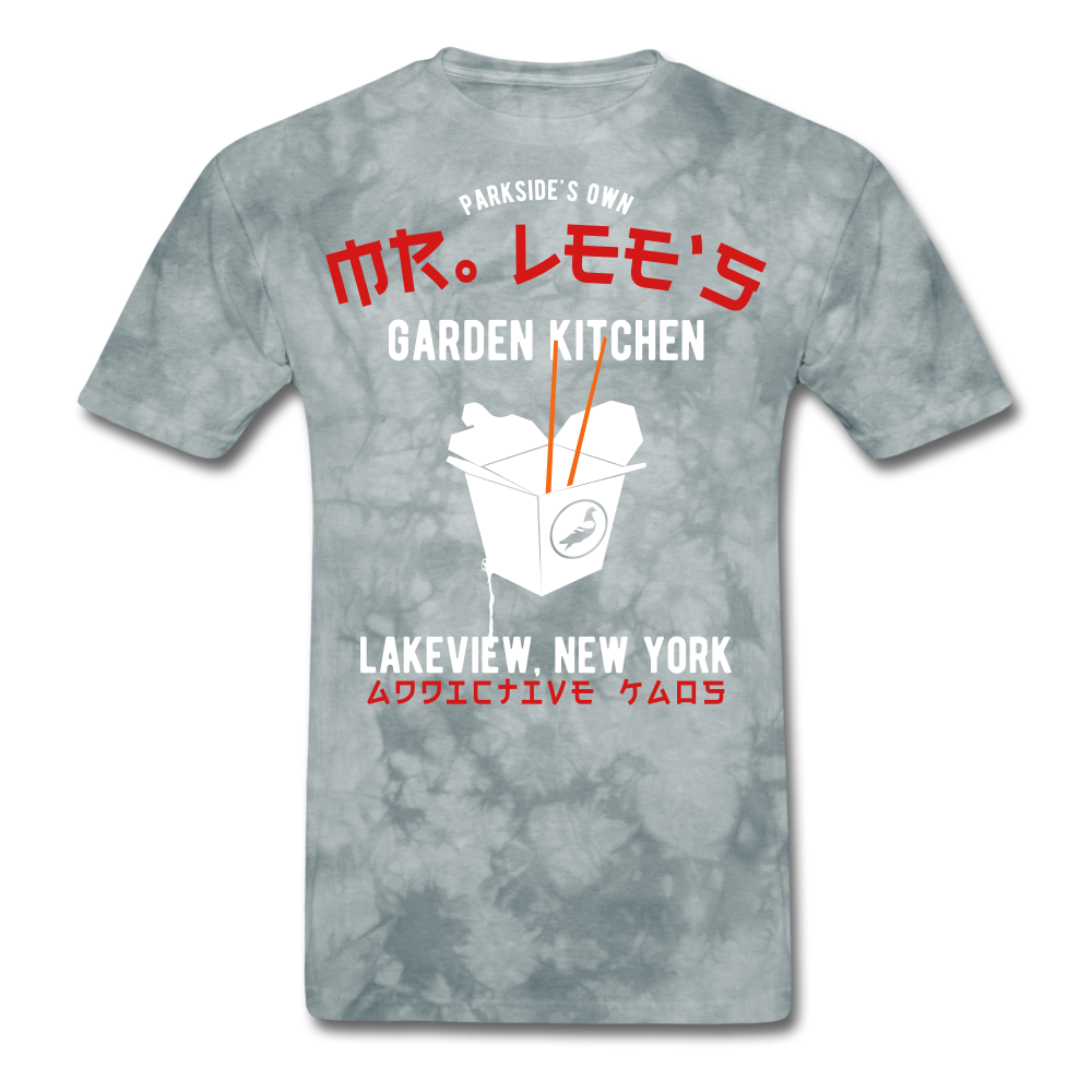 Mr. Lee's Men's T-Shirt - grey tie dye