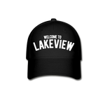 Lakeview Baseball Cap - black