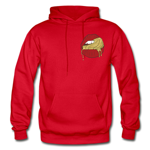 Ocean Lust Heavy Blend Adult Hoodie - red