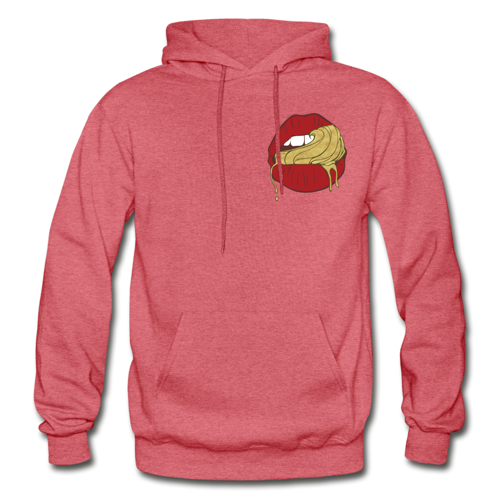 Ocean Lust Heavy Blend Adult Hoodie - heather red