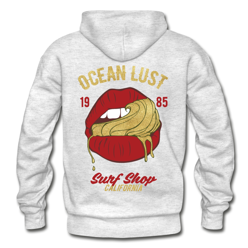 Ocean Lust Heavy Blend Adult Hoodie - light heather gray