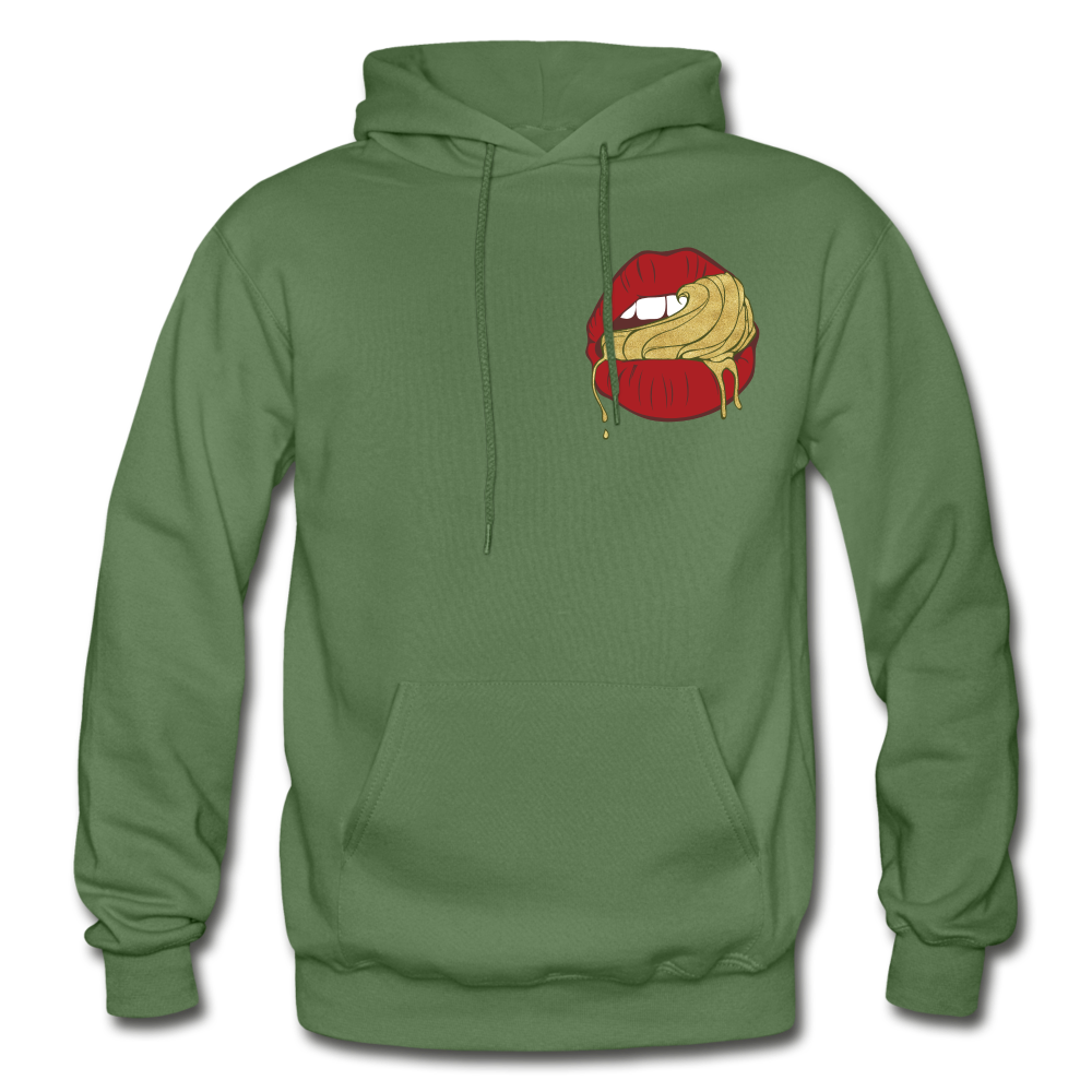 Ocean Lust Heavy Blend Adult Hoodie - military green