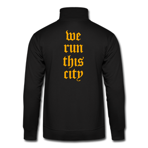 WRTC Quarter Zip Running Pullover - black