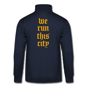 WRTC Quarter Zip Running Pullover - navy