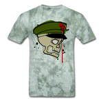 Th(Ink) Revolution Classic T-Shirt - military green tie dye