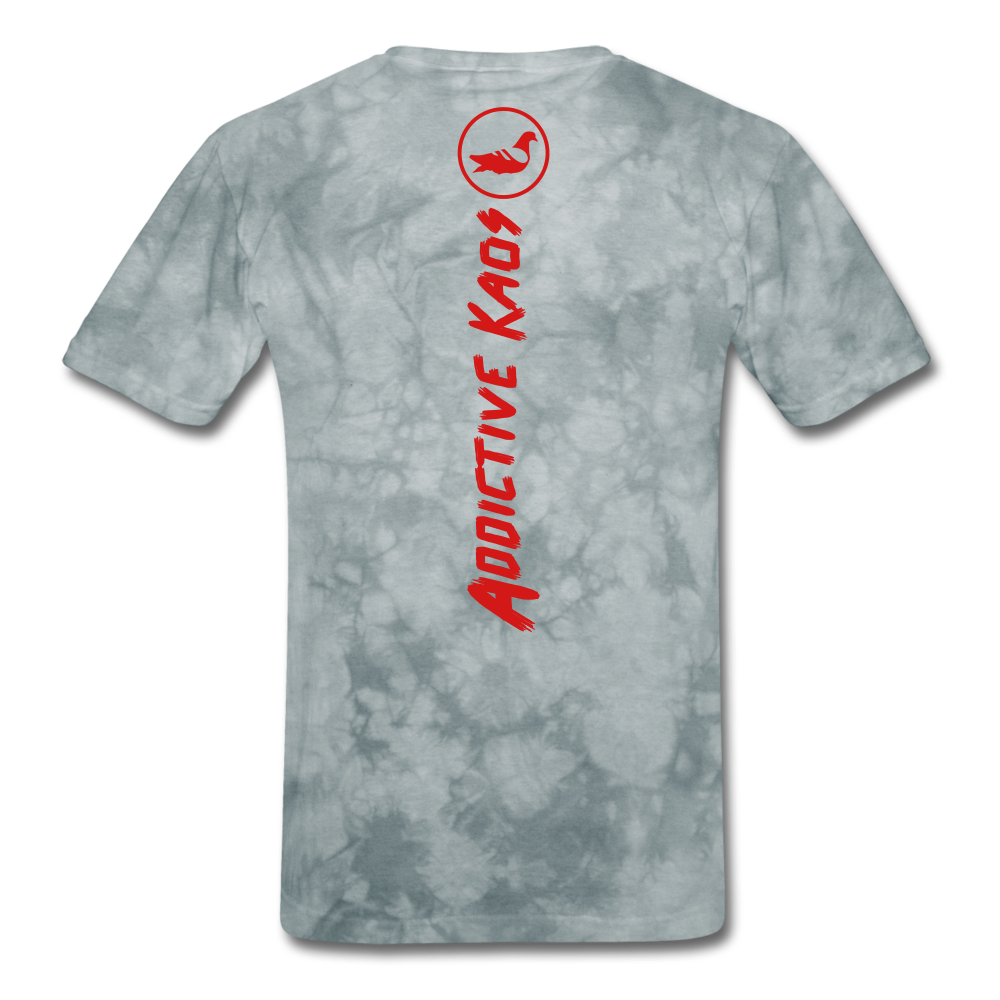 Th(Ink) Revolution Classic T-Shirt - grey tie dye