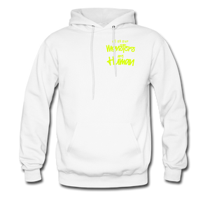 All of our Monsters Hoodie - white