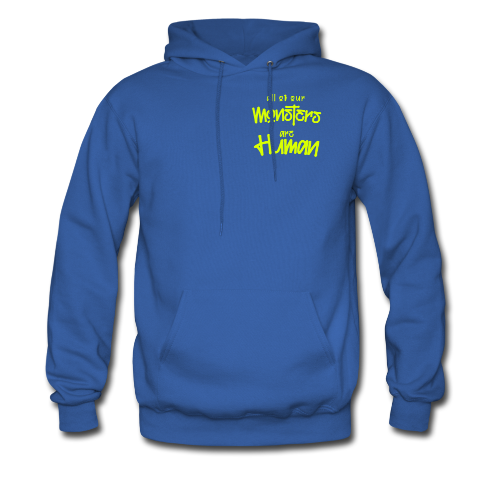All of our Monsters Hoodie - royal blue