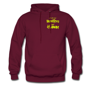All of our Monsters Hoodie - burgundy