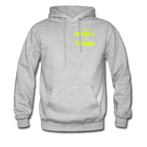 All of our Monsters Hoodie - heather gray