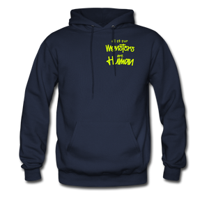 All of our Monsters Hoodie - navy