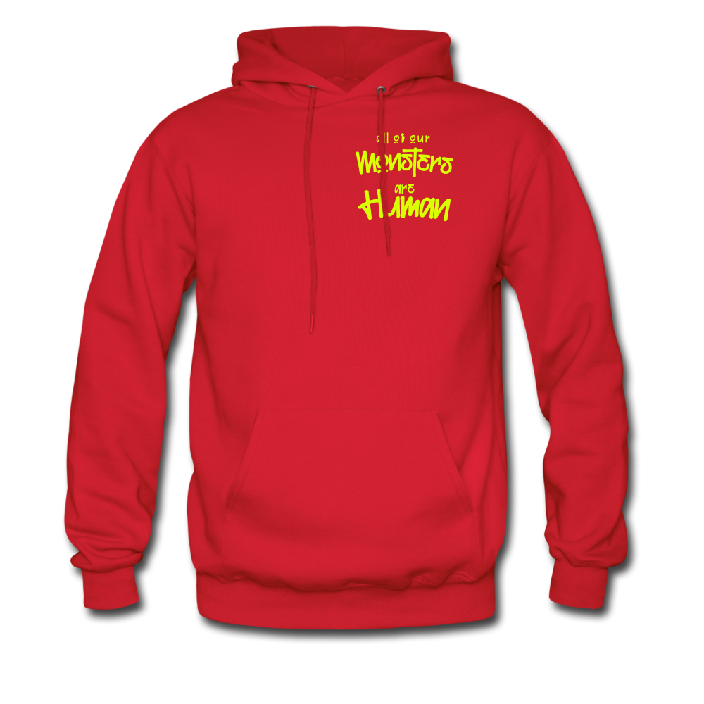 All of our Monsters Hoodie - red