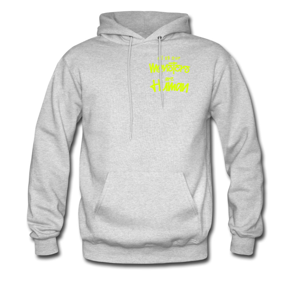 All of our Monsters Hoodie - ash