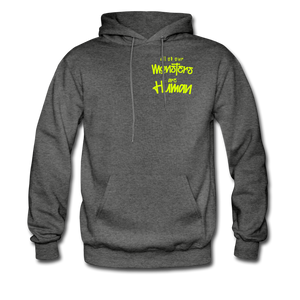 All of our Monsters Hoodie - charcoal gray