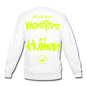 All of our Monsters Crewneck Sweatshirt - white