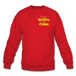 All of our Monsters Crewneck Sweatshirt - red