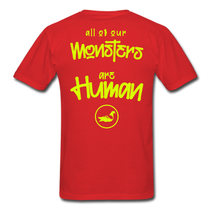 All of our Monsters T-Shirt - red
