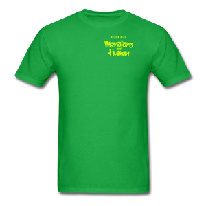 All of our Monsters T-Shirt - bright green